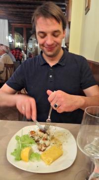 Venetiaans eten in Venetie