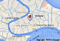 Reizen naar Venetie Kaart