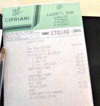 Eten in Venetie duur