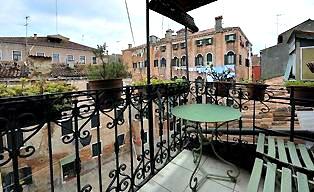 Appartement Venetie met Terras