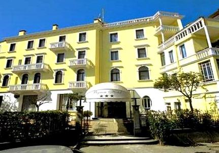Hotel op Lido Venetie