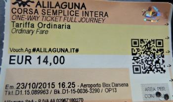 Alilaguna naar Venetie