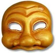 ARlecchio Venetië Carnaval Masker