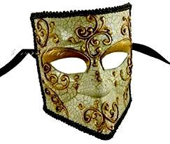 Bauta Venetië Carnaval Masker