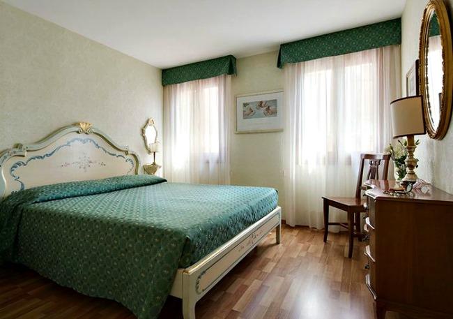 Appartement Venetië huren slaapkamer