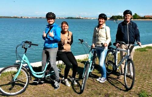 Mestre naar Venetie fietstour