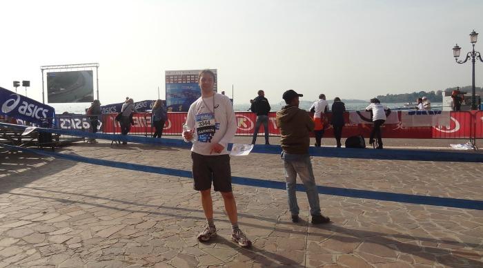 Venetie Marathon lopen? Ik heb de finish gehaald!