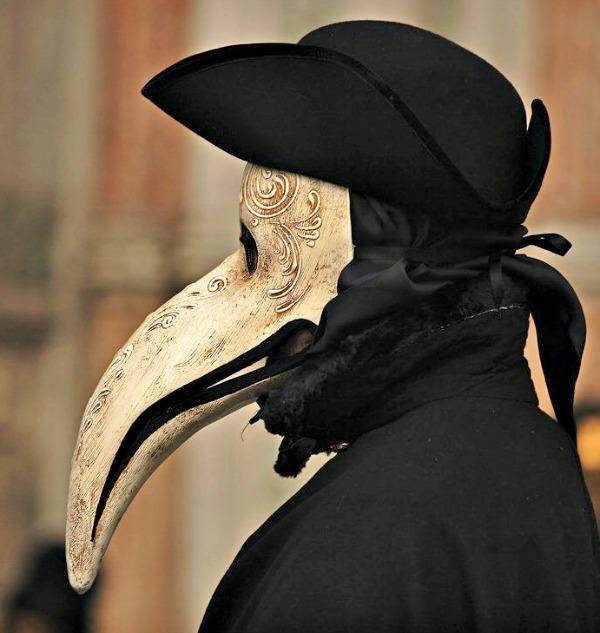 Met kruiden in de snavel werd het Virus in Venetie overwonnen