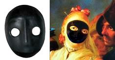 Moretta Venetië Carnaval Masker