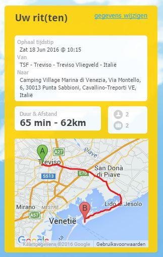 Taxi Treviso Airport Marina di Venezia