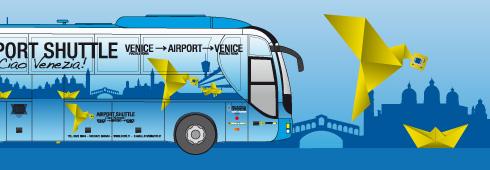 ATVO van vliegveld naar Venetie