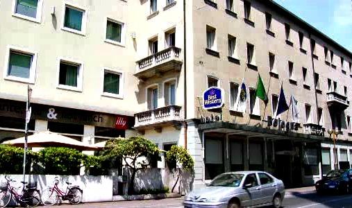 Mestre hotel Venetie buiten