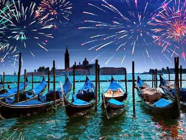 Nieuwjaar in Venetie