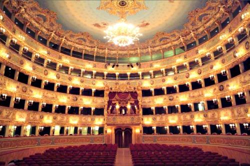 Binnenkant La Fenice