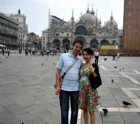 Op het San Marcoplein voor de eerste keer