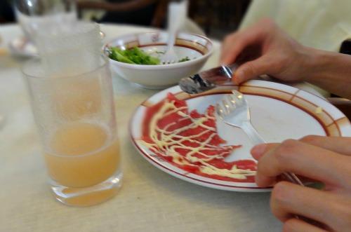 carpaccio Venetie eten in