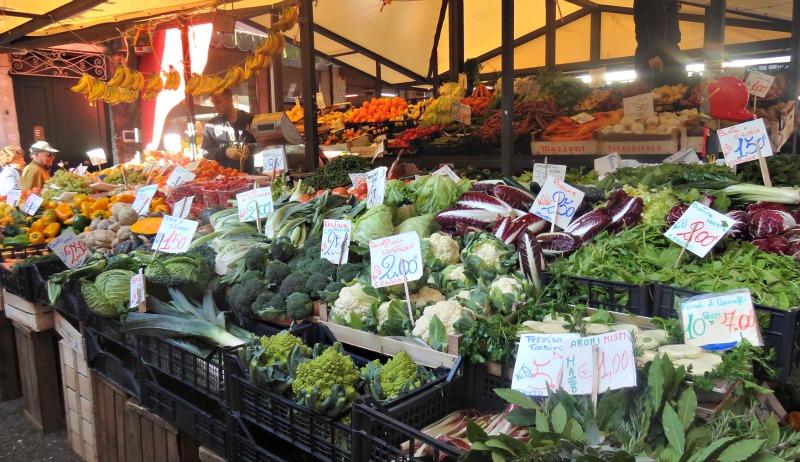 Rialto-Markt-Winkel-Venetie