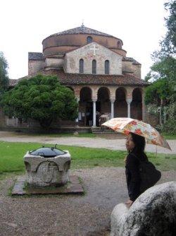 Weer Venetie in Torcello