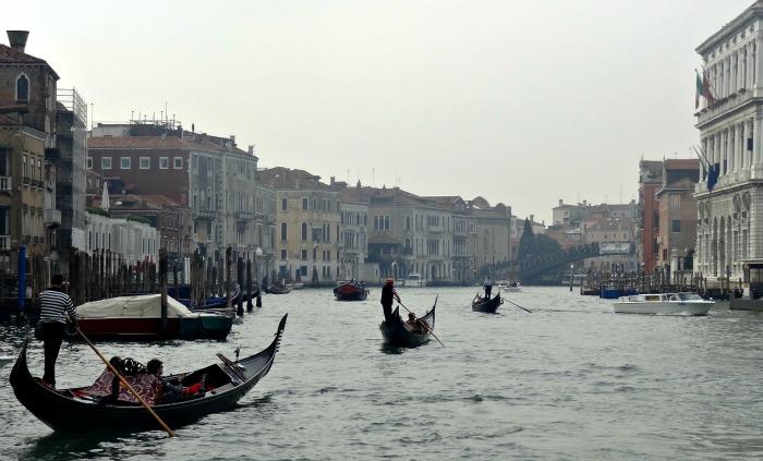 Gondel Venetie Grand Canal