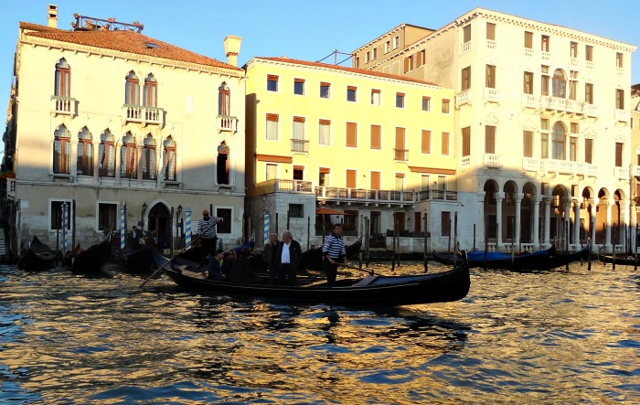 Traghetto Gondel Canal Grande Venetie
