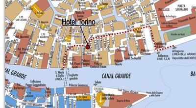 Hotel in Venetie Torino