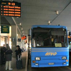 Van de Luchthaven naar Venetie