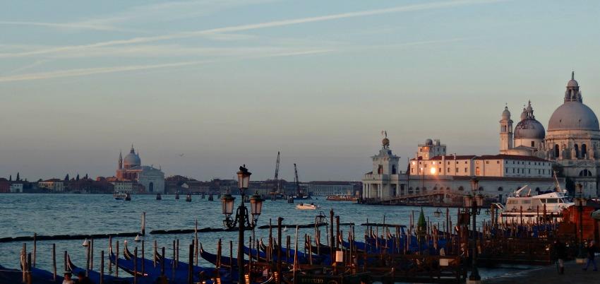 Zonsopgang Venetie